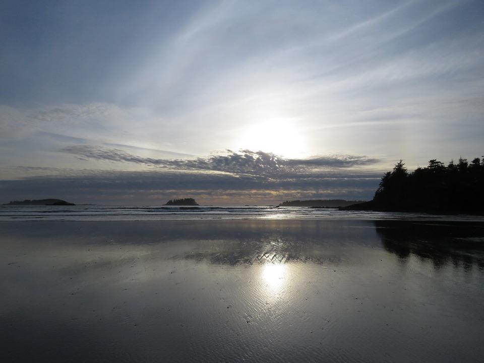 Sunset, Beach, Ocean, Beach Sunset, Sea, Sky, Sand