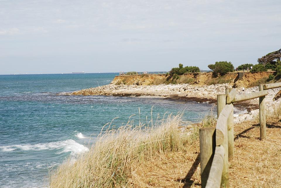 Sea, Waves, Ocean, Beach, France, Atlantic, Oléron