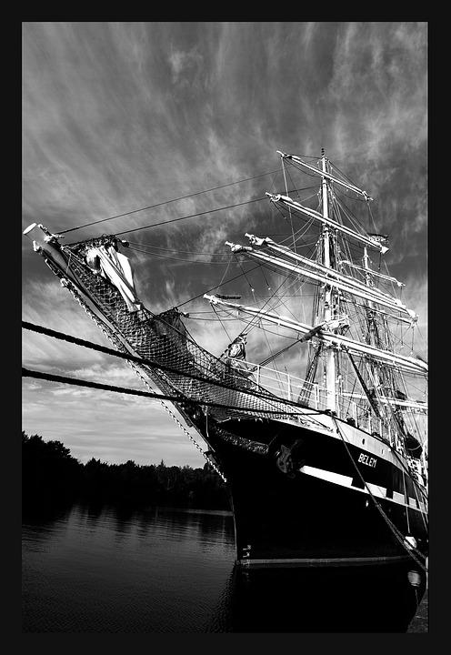 Ocean, Sailing, Sea, Normandy, Sailing Vessel, Boat