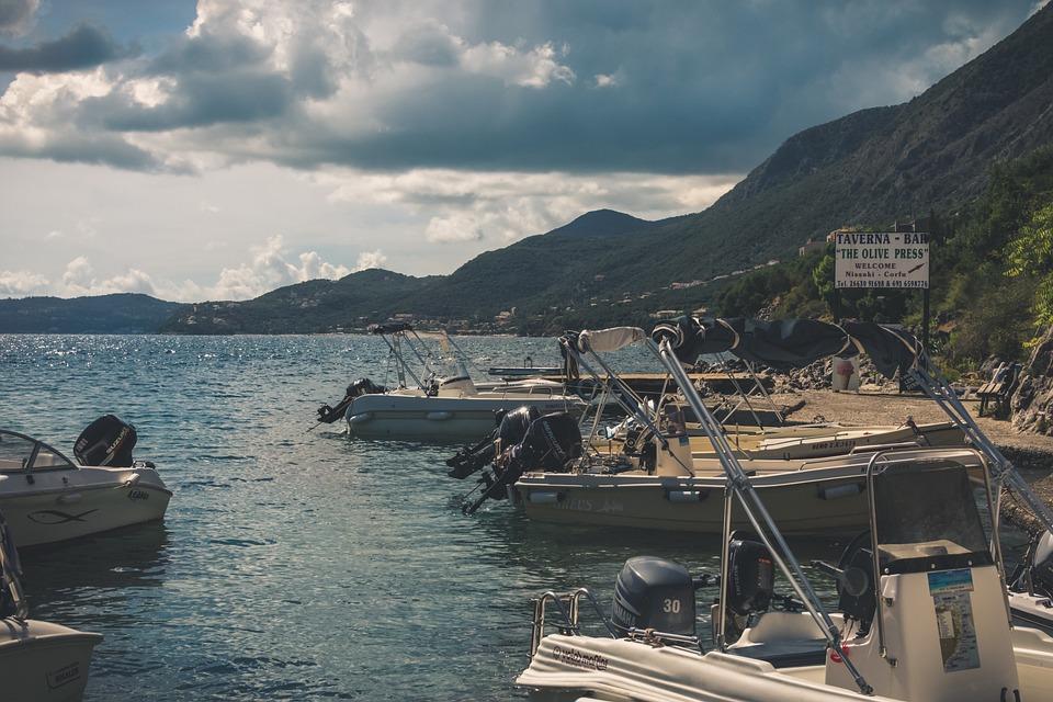 Sea, Ocean, Water, Clouds, Sky, Sunny, Boat, Machine