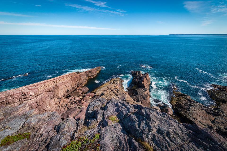 Newfoundland, Canada, Ocean, Landscape, Nature