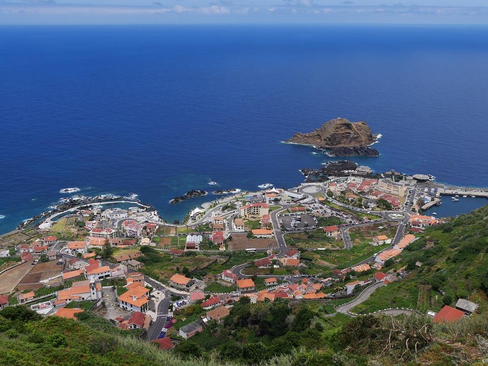 Madeira Portomoniz, Portugal, Atlantic, Ocean, Coast