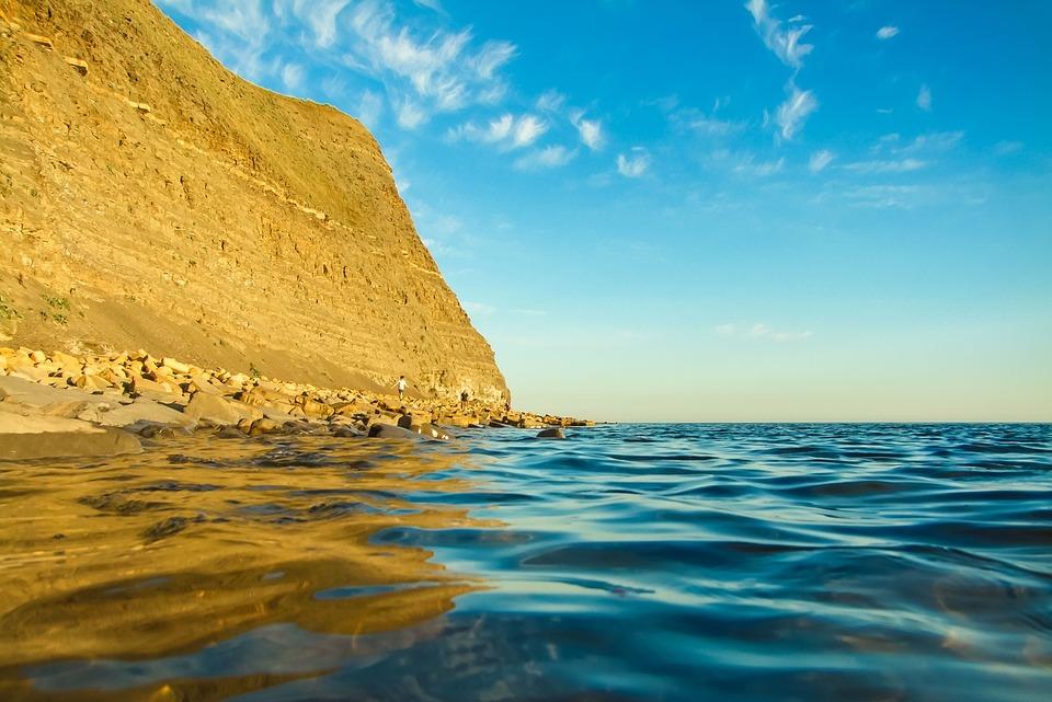 Ocean, England, Dorset, Of The Sea, Bay