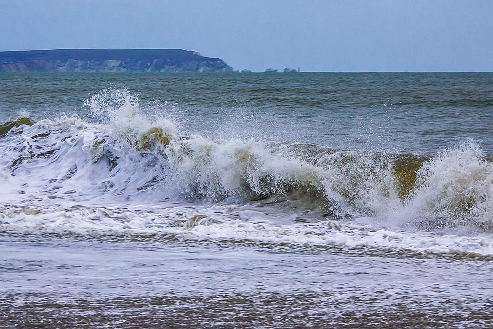 Waves, Ocean, England