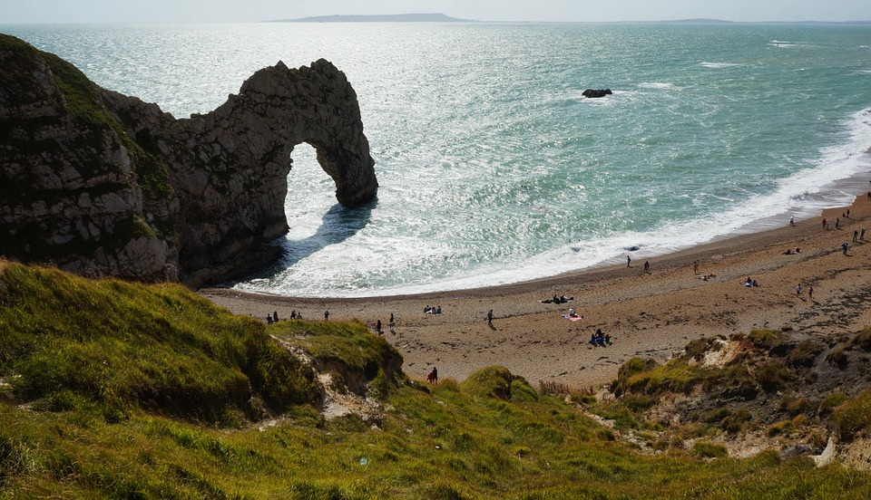 Booked, Rock, Sea, Landscape, Summer, Felsentor, Ocean