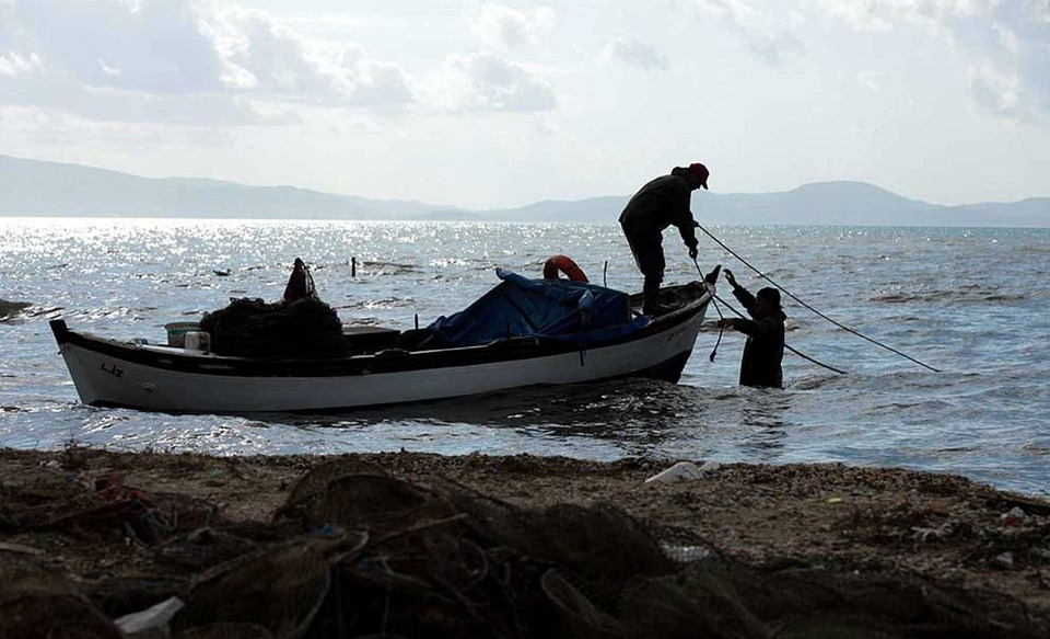 Sea, Boat, Fisherman, Ocean, Sky, Fishing