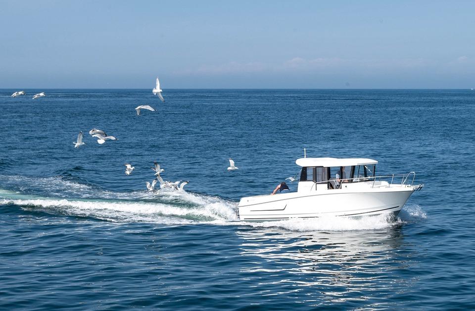 Boat, Sea, Ocean, Fishing, Fisherman, Sea Fishing