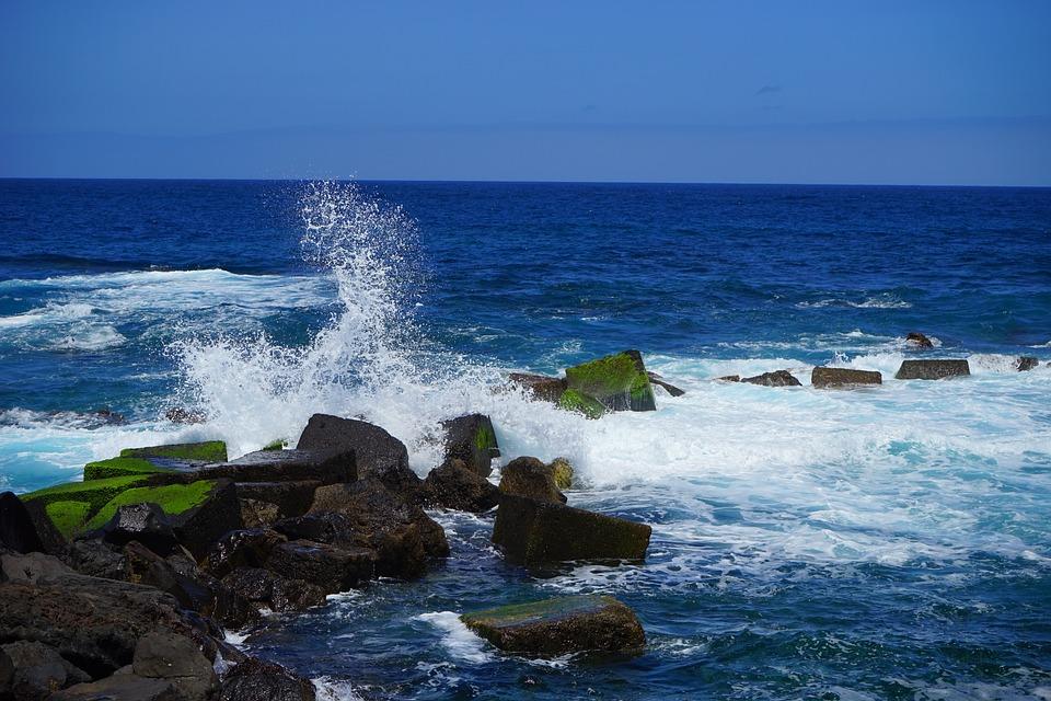 Wave, Inject, Foam, Breakwater, Sea, Ocean, Water