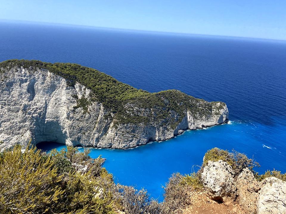 Ocean, Coast, Headland, Greece, Iceland, Water