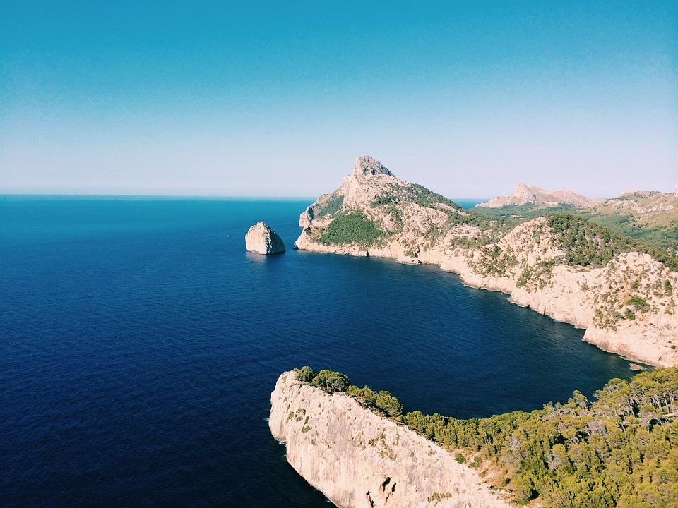 Landscape, Sea, Ocean, Beach, Nature, Rocks, Madam