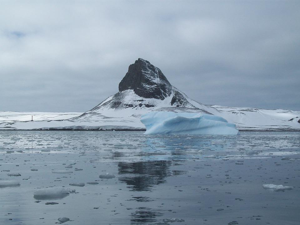 Antarctica, Landscape, Ice, Cold, Snow, Sea, Ocean, Sky