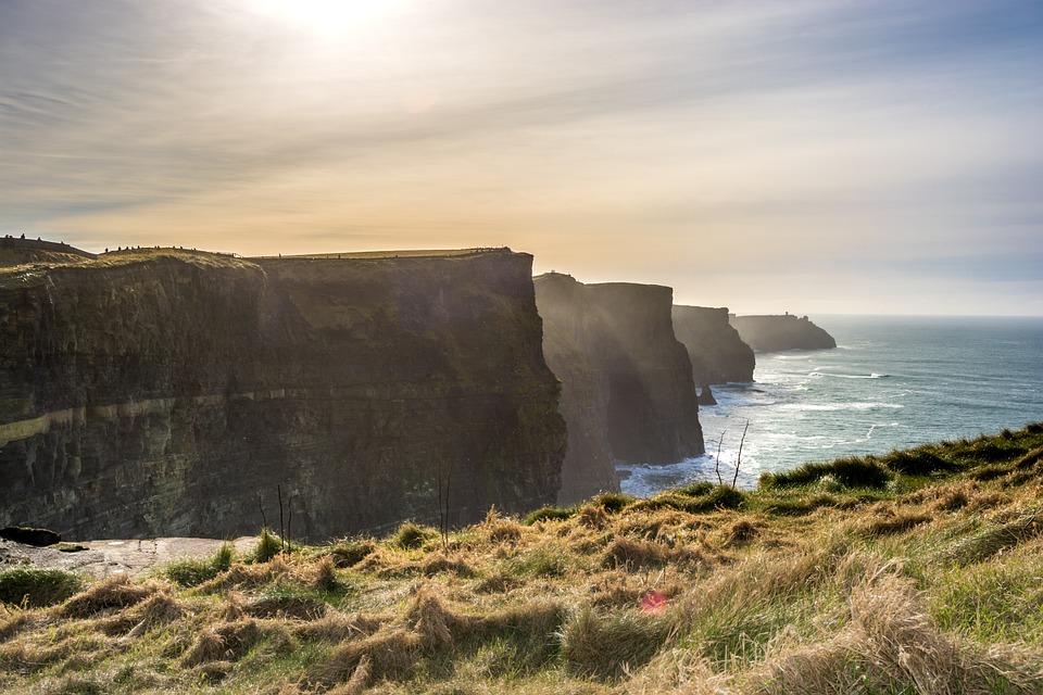 Cliffs Of Moher, Ireland, Landscape, Moher, Ocean