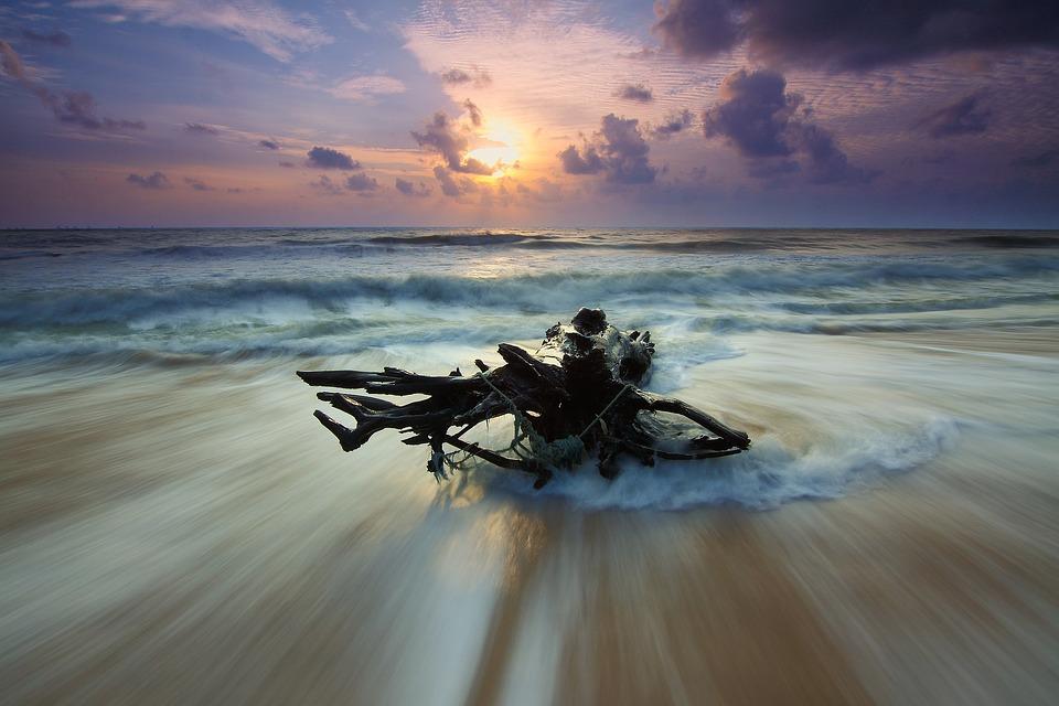 Beach, Dawn, Dusk, Landscape, Nature, Ocean, Outdoors