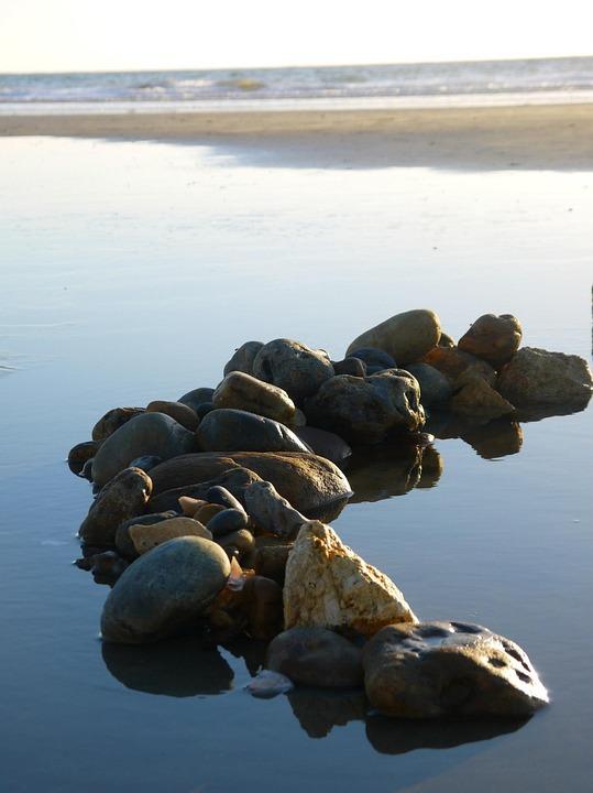 Rock, Sea, Seaside, Ocean, Nature, Landscape, Atlantic