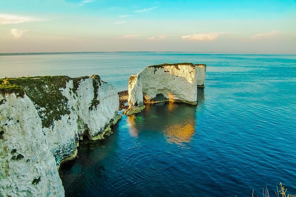 Old Harry Rocks, Dorset, Ocean