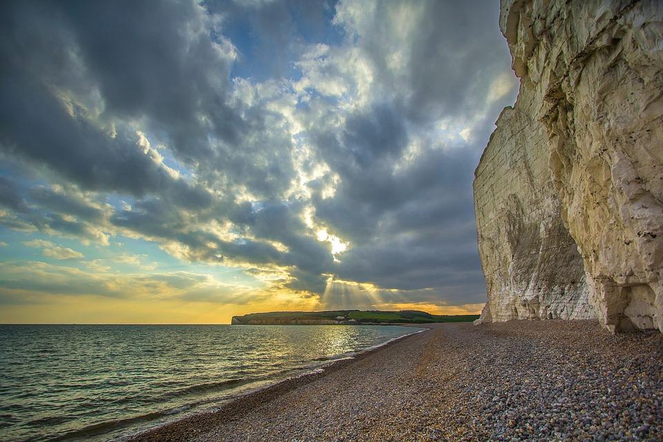 Seven Sisters, Reefs, Ocean, England
