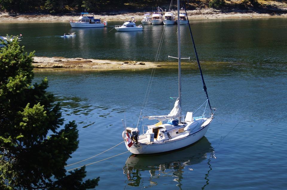 Sailboat, Boat, Boating, Yacht, Sail, Ocean, Sea, Water