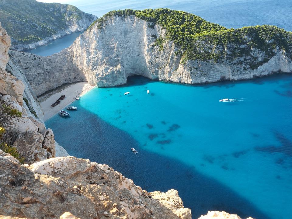 Sea, Blue Sea, Cliff, Ocean, Water, Rock Formation