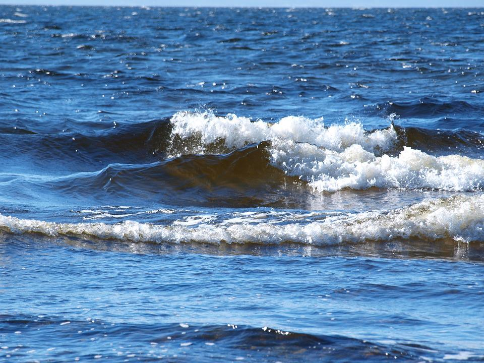 Waves, Water, Ocean, Sea, Energy, Motion, Water Wave