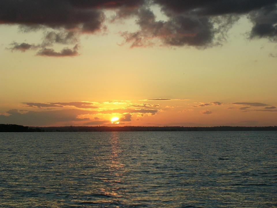 Sunset, Ocean, Sunset Gold Coast, Sky, Clouds, Outdoors
