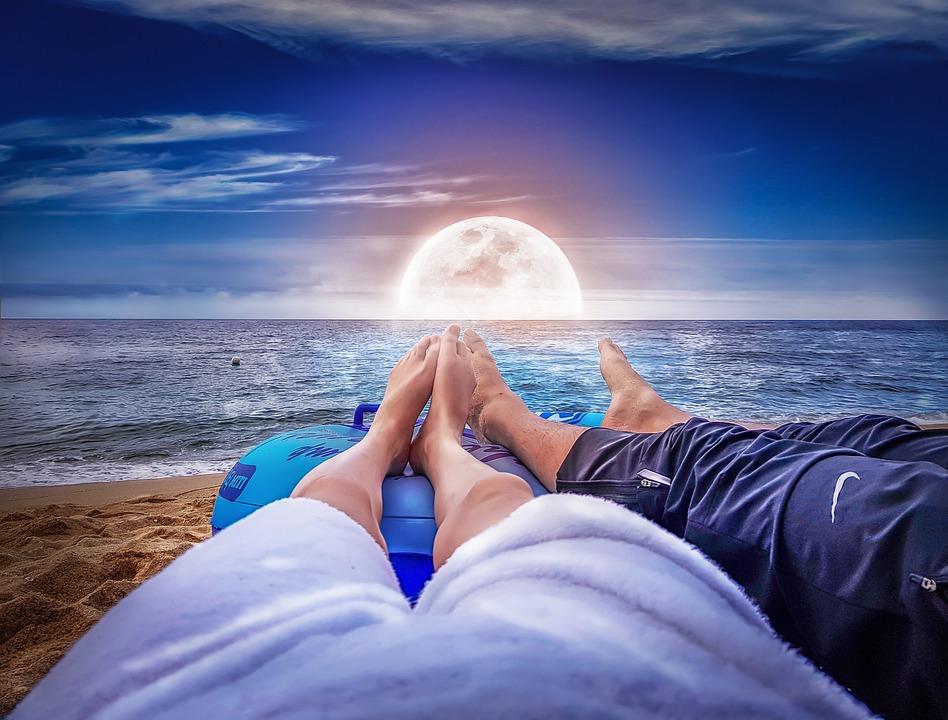 Sea, The Body Of Water, Ocean, Heaven, Summer, Sunset