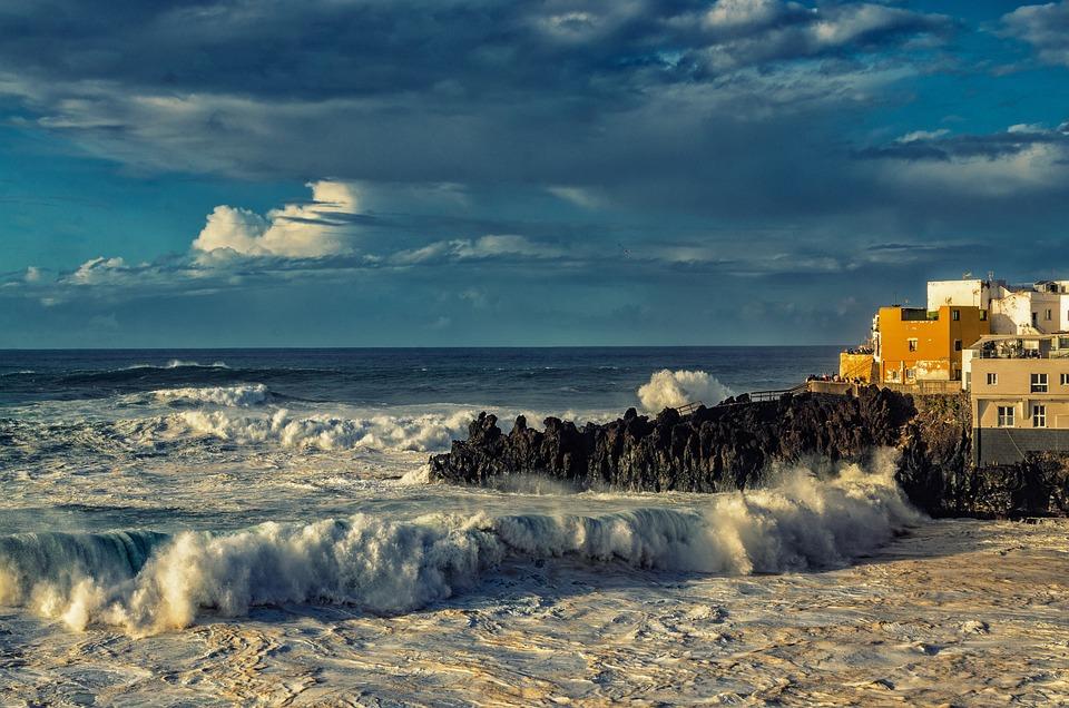 Surf, Atlantic, Vacations, Ocean Surf, Sea, Coast