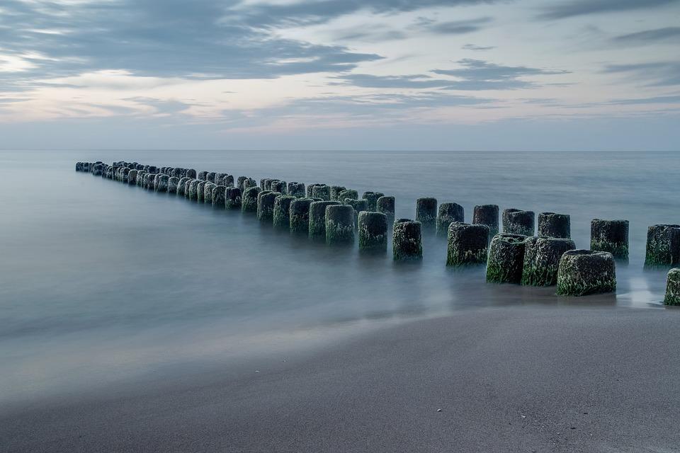 The Endless Sea, The Old Breakwater, Ocean, Widnokrąg