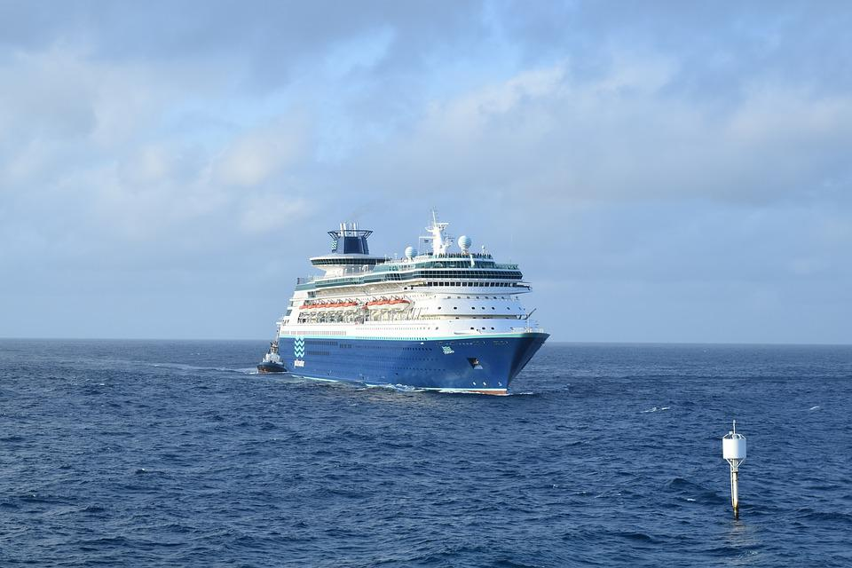 Tourism, Ship, Travel, Vacation, Ocean, Water, Sky