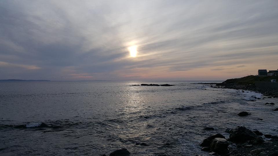 Seascape, Ocean, Sea, Sky, Sunset, Travel, Vacation