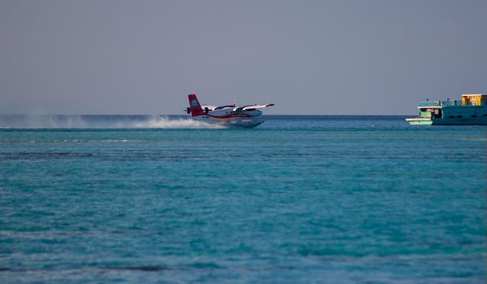 Seaplane, Ocean, Sea, Water, Aircraft, Travel, Airplane