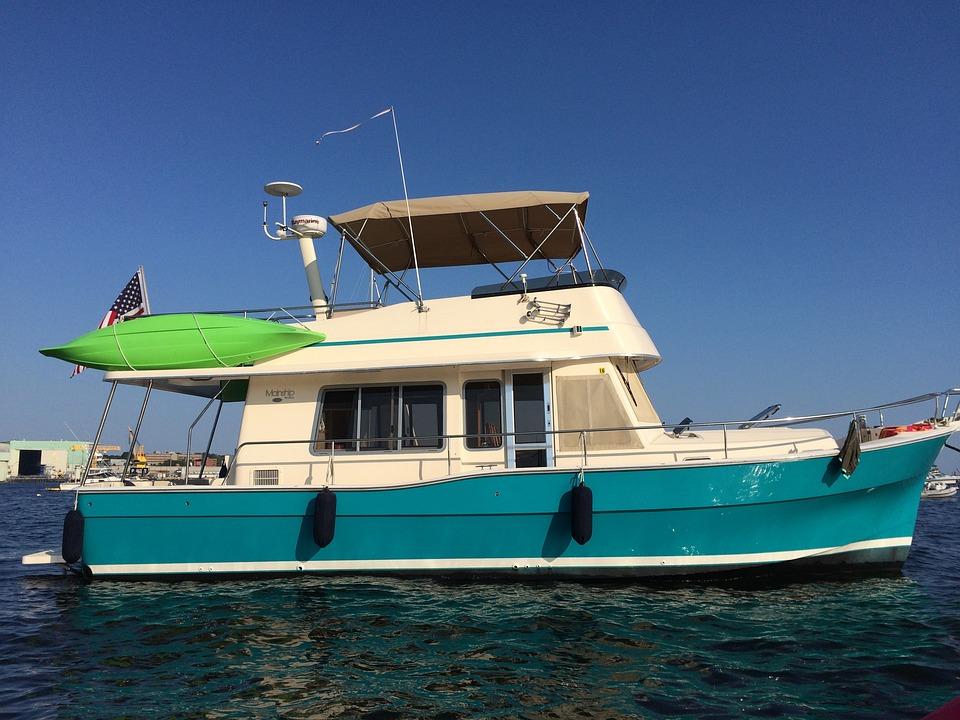 Boat, Trawler, Motoring, Sea, Fishing, Yacht, Ocean