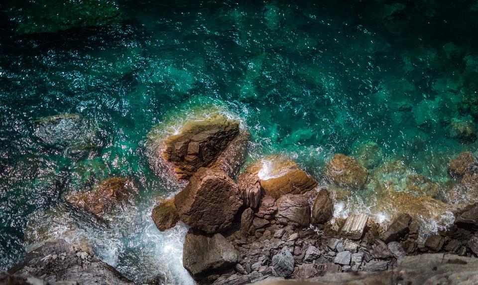Coast, Ocean, Rocks, Sea, Water, Shore