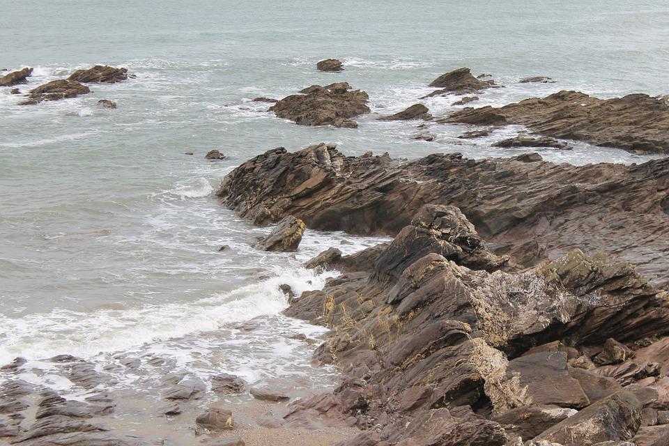 Sea, Seashore, Water, Beach, Ocean, Rock, Wave, Shore
