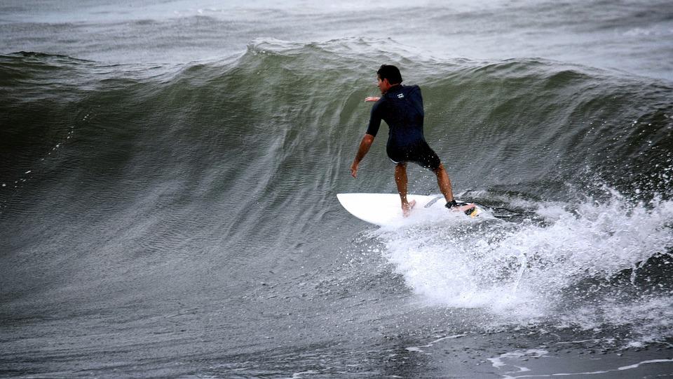 Surfer, Atlantic, Swell, Wave, Sea, Water, Coast, Ocean