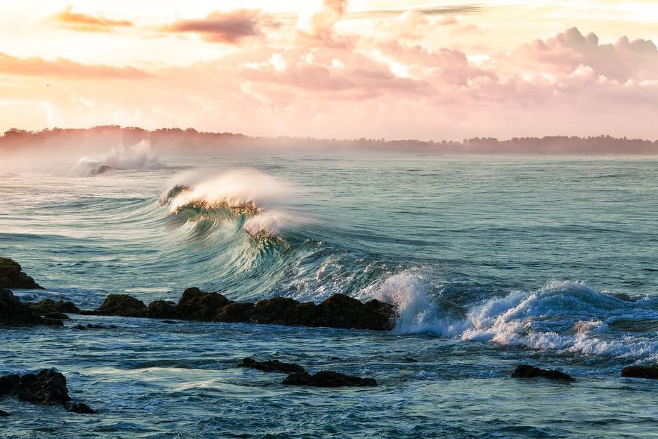Coast, Waves, Beach, Ocean, Sea, Seascape, Ocean Waves