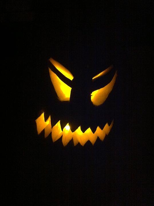 Halloween, Jack-o-lantern, October, Autumn, Scary