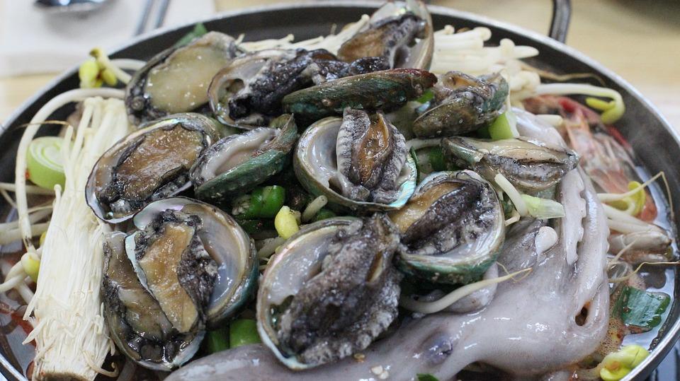 Jeju Food, Haemultang, Food, Tang, Abalone, Octopus
