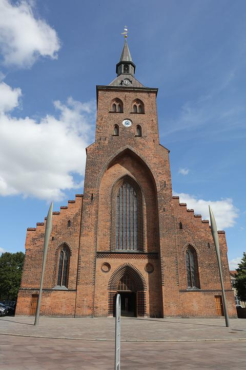 Church, Odense, St Canute's Cathedral, Medieval