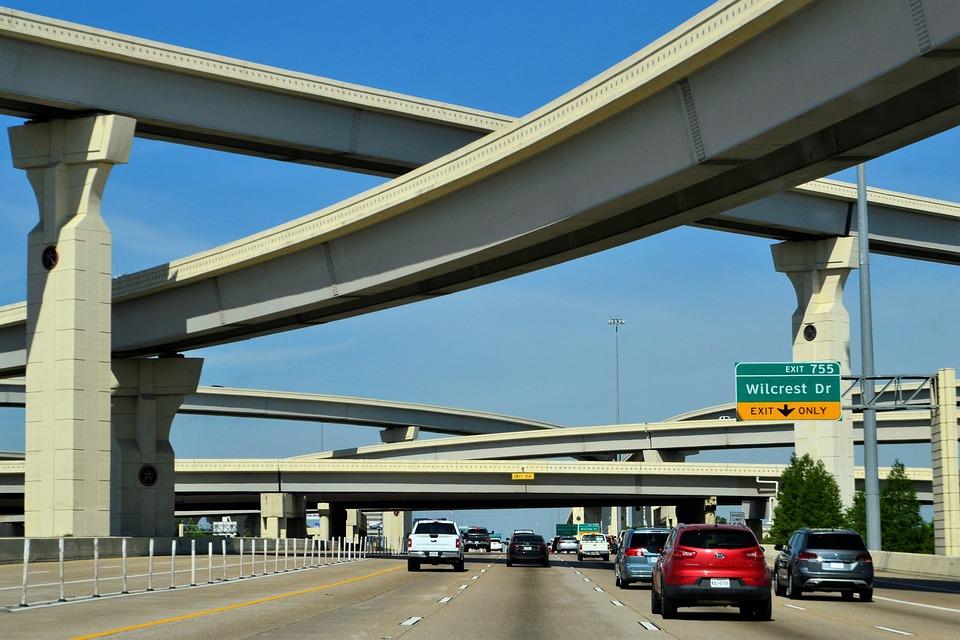 Highway, Road, Off Ramp, Cars, Travel, Interstate, Lane