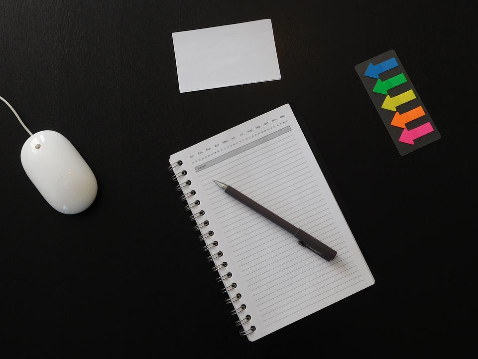Notes, Agenda, Office, Paper, Notebook, Business