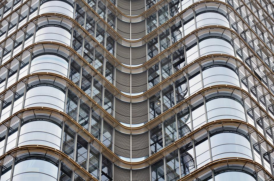 Office, Office Building, Curtain Wall