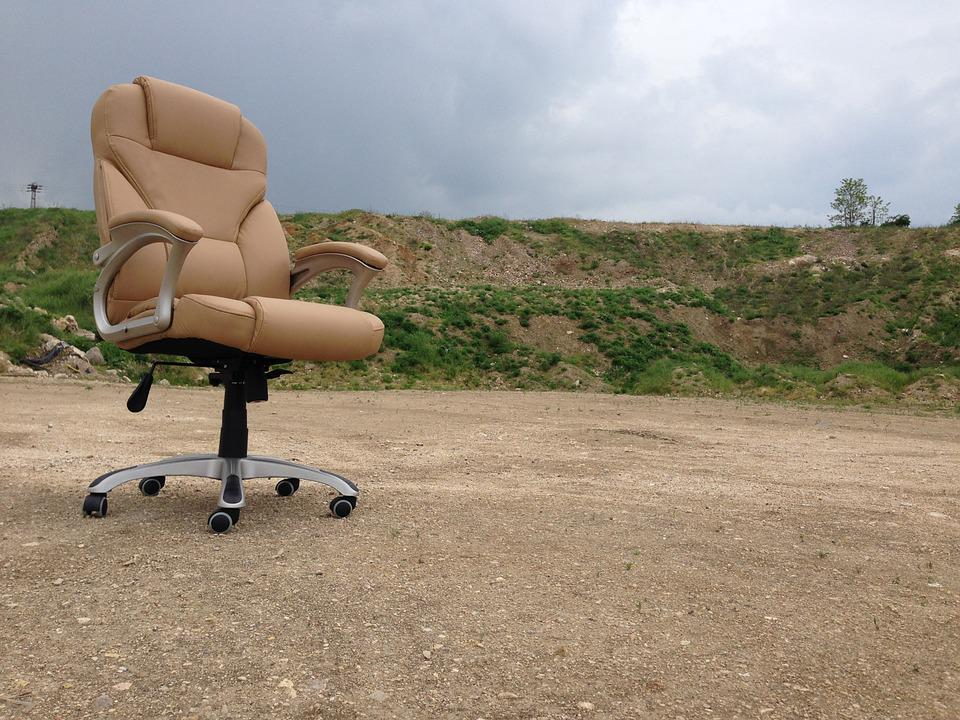 Office Chair, Swivel Chair, Outside
