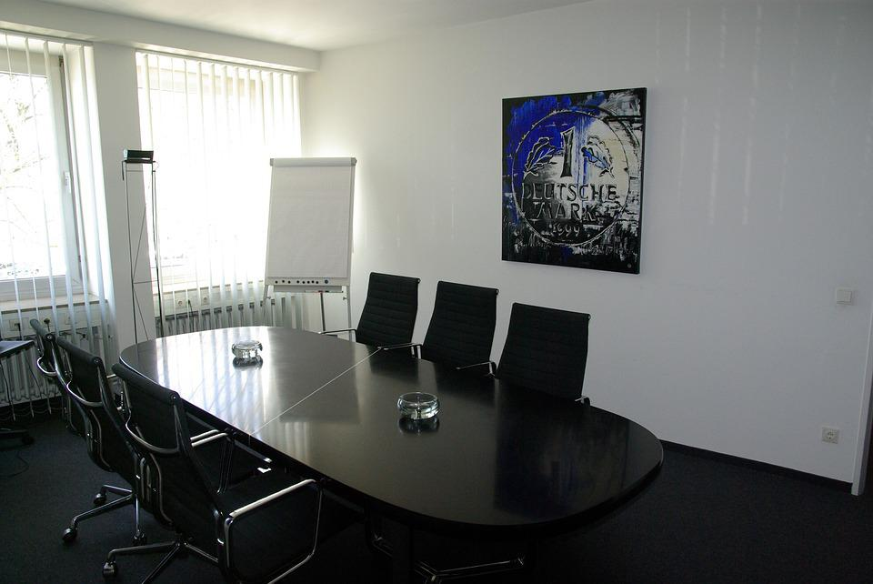 Free Photo Office Conference Table Interior Conference Room Max Pixel - Office max conference table
