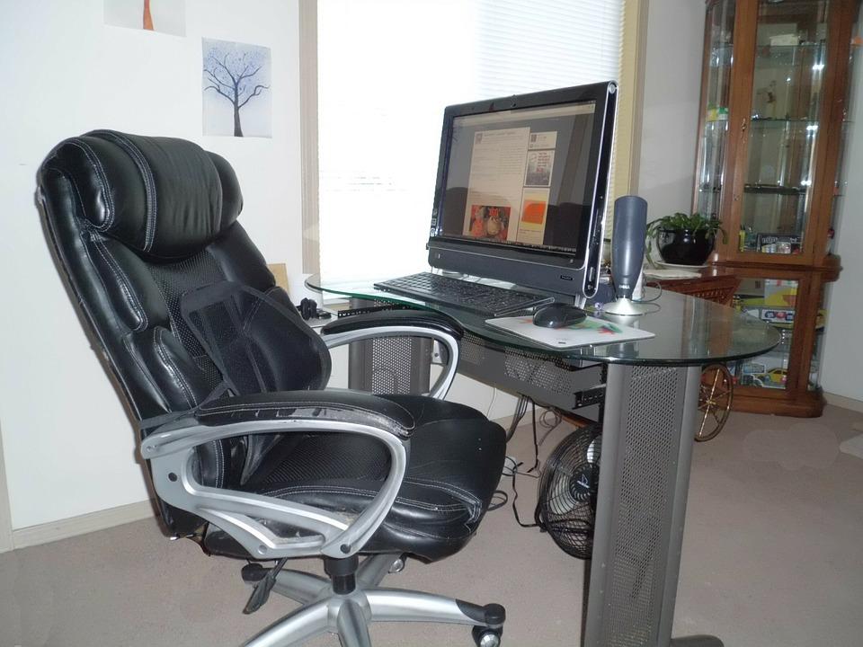 Desktop Hp Touchsmart Desk Computer Chair Office