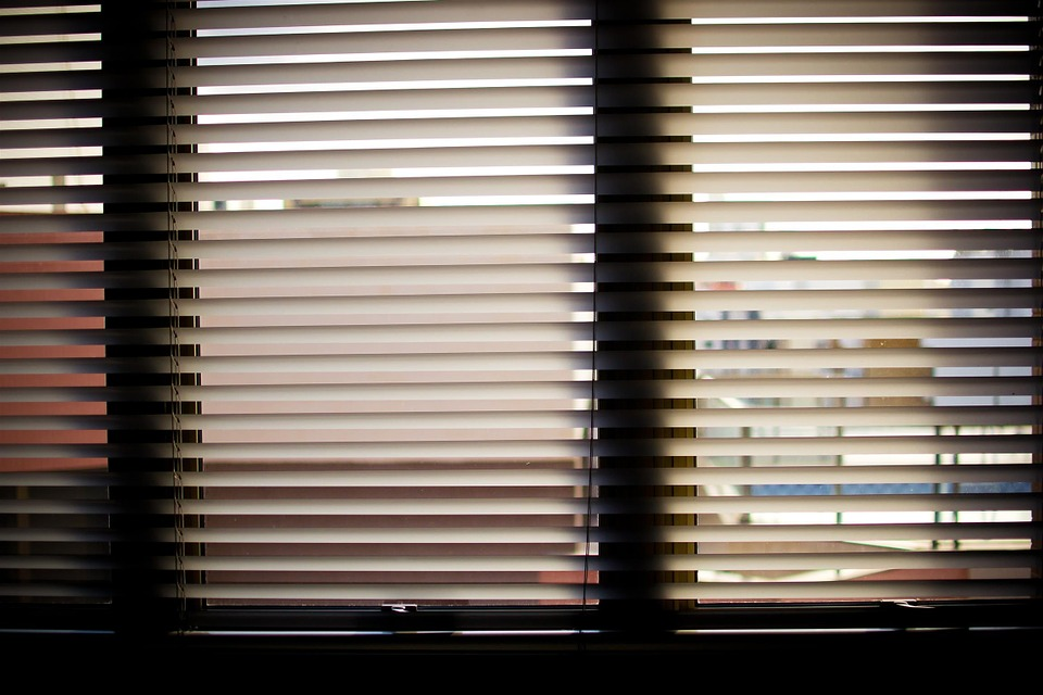 Window Blinds, Office, Office Window, Horizontal