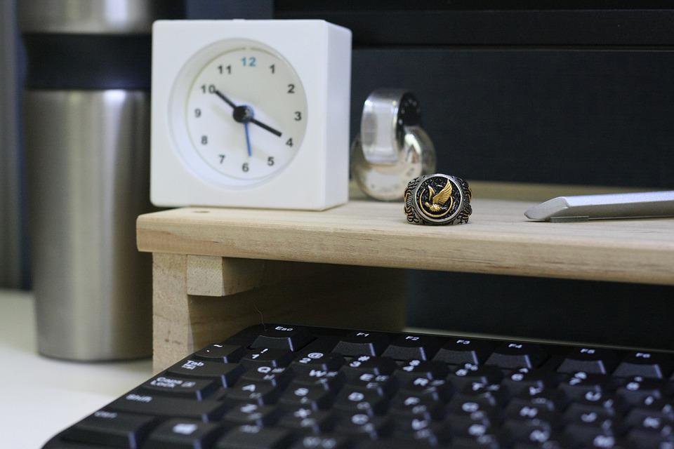 Man, Mans, Ring, Rings, Office, Clock, Male, Business