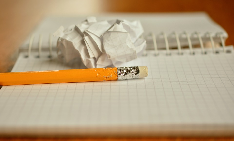 Pencil, Notes, Chewed, Paper Ball, Office, Leave
