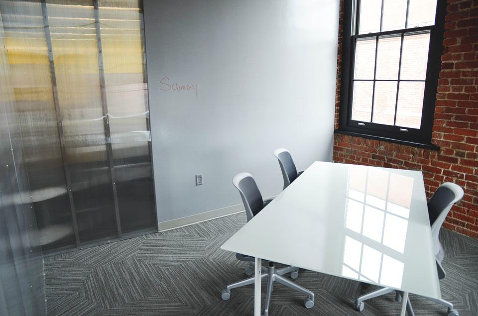 Office, Startup, Table, Chairs, Room, Education