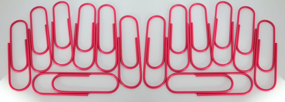 Paperclips, Office Supplies, Business, Accessories