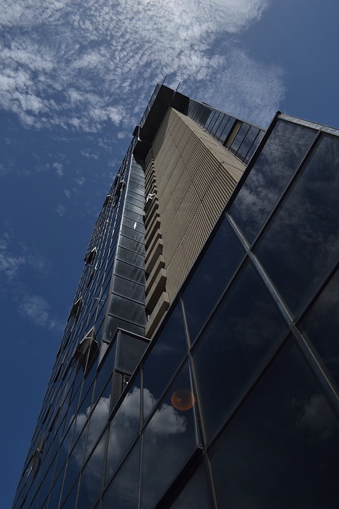 Office Tower, Valencia, Venezuela, Camoruco, Glass, Day